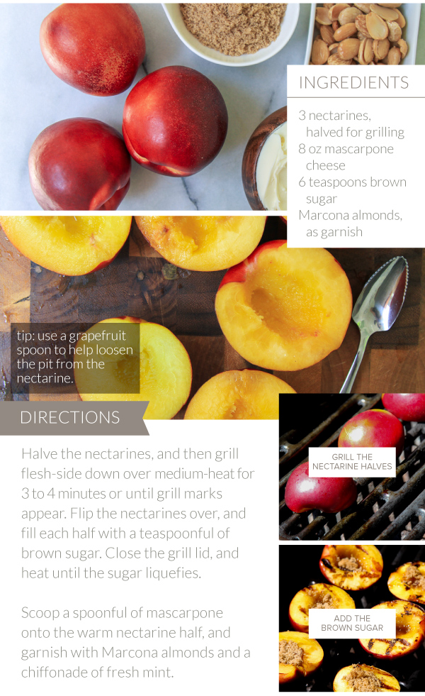Directions for Nectarines