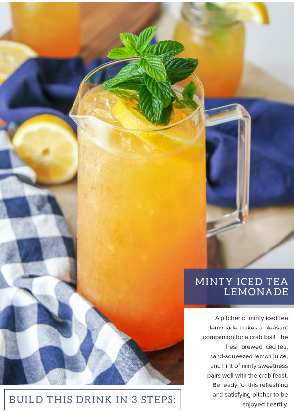 Minty Iced Tea Lemonade