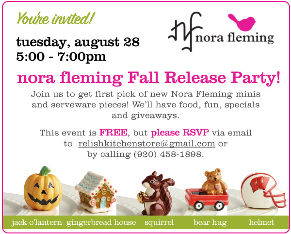 Nora Fleming Fall Release Party