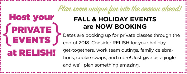 Book Your Private Events