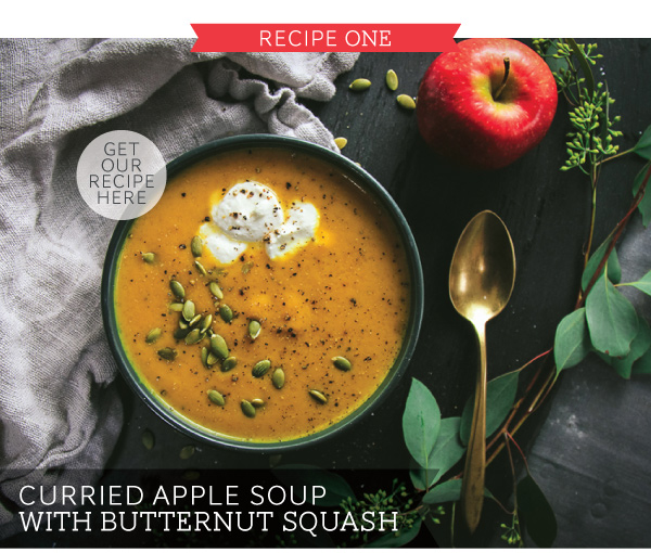 RECIPE: Curried Apple Soup with Butternut Squash