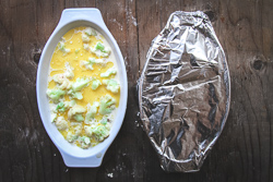 Add to Gratin, cover with foil