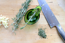 Prepare Rosemary and Garlic