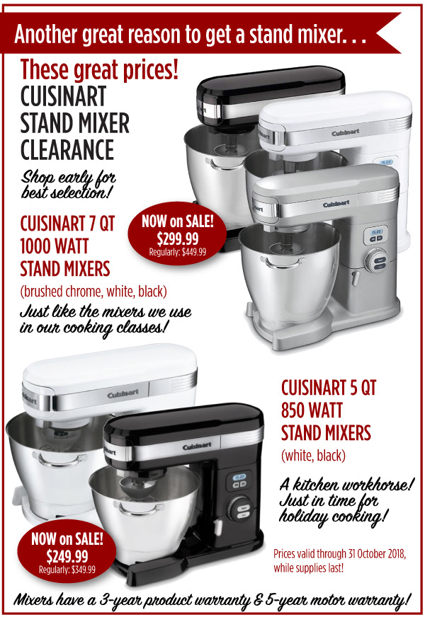 Stand Mixer Clearance