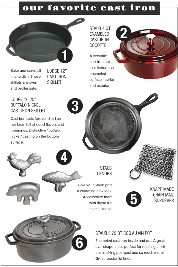 Our Favorite Cast Iron