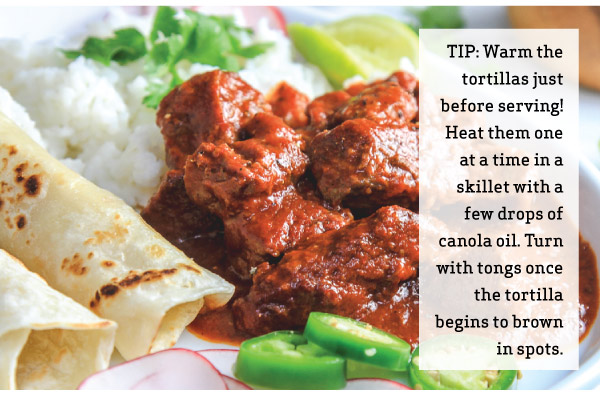 Tip - Warm Tortillas