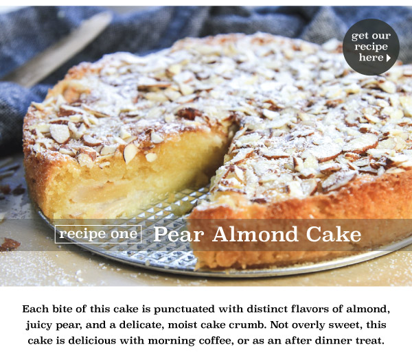 Pear Almond Cake