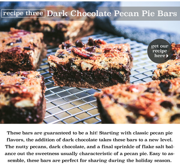 Dark Chocolate Pecan Pie Bars