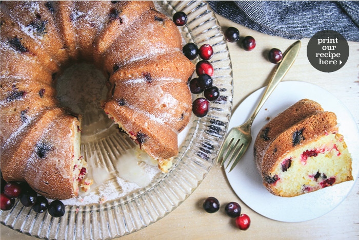 Cranberry-Orange Bundt Cake
