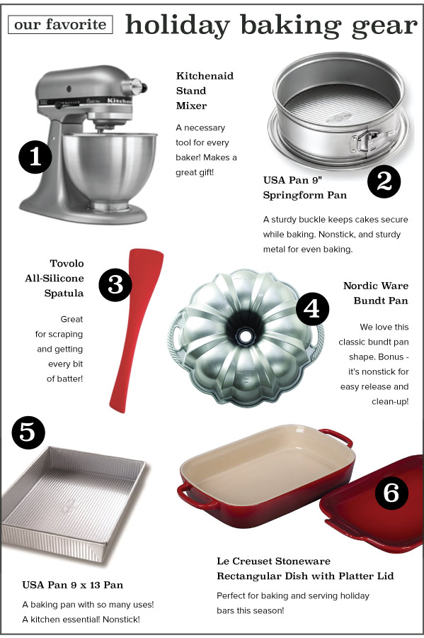 Holiday Baking Gear