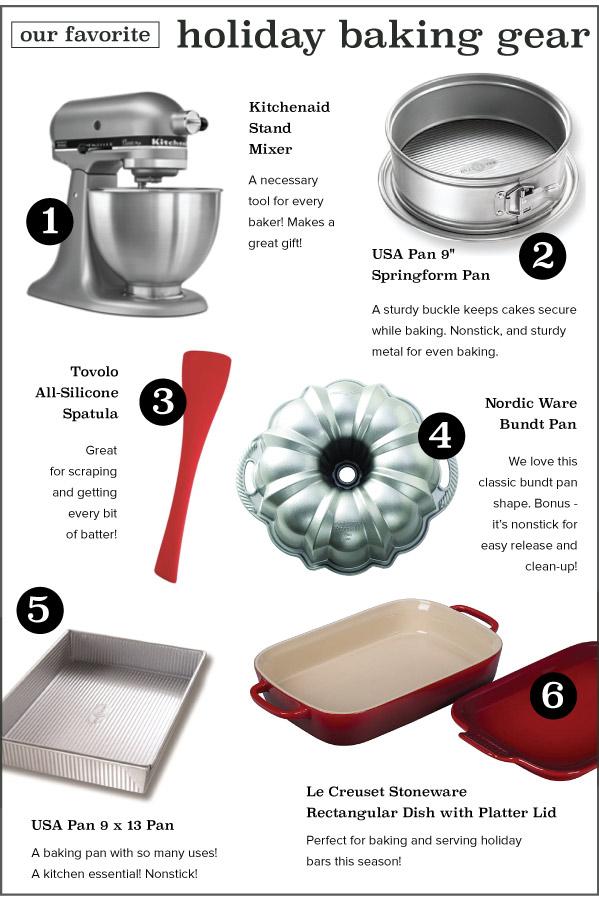 Holiday Baking Gear