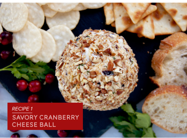 Savory Cranberry Cheese Ball