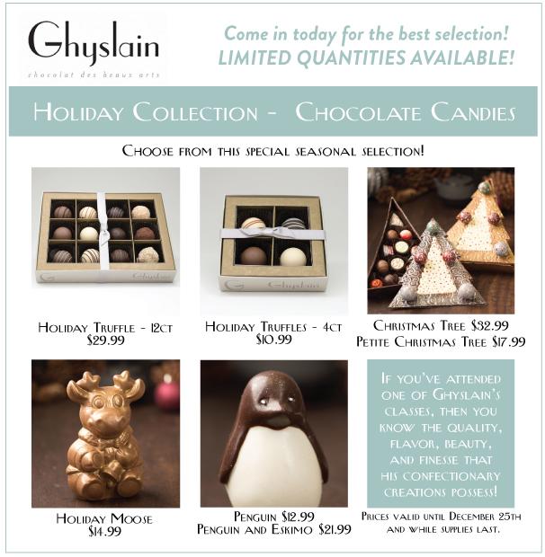 Ghyslain Chocolate