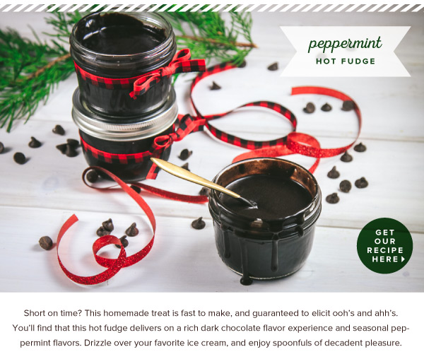 RECIPE: Peppermint Hot Fudge