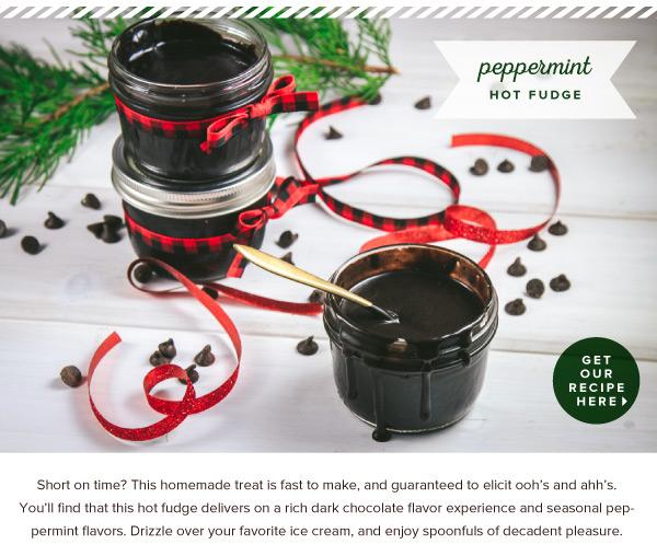 RECIPE: Peppermint Hot Fudge