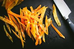 Slice the Peels thinner