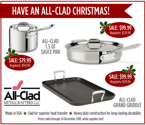 All-Clad Christmas
