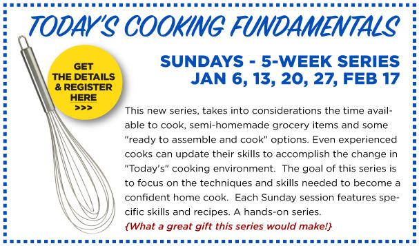 Cooking Class Fundamentals