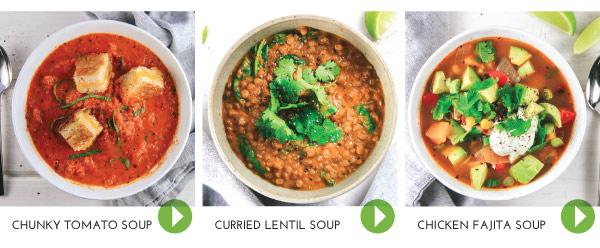 Healthier-ish Soups
