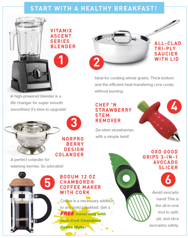 Healthy Breakfast Tools