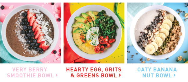 Three Power Bowls