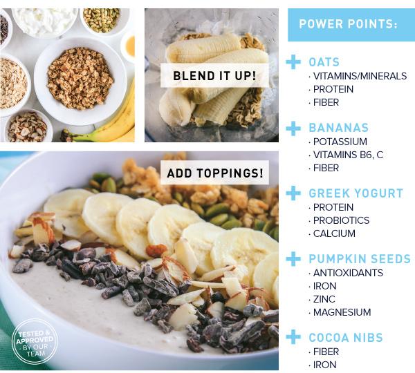 Oat and Banana Nut Bowl