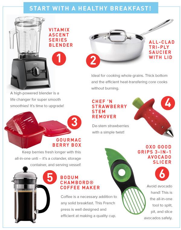 Healthy Breakfast Tools