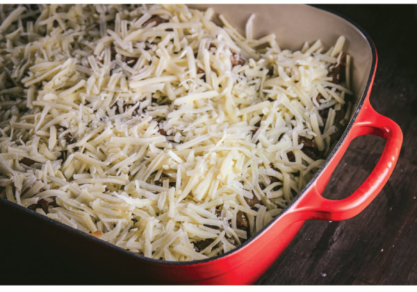 Layering Cheese