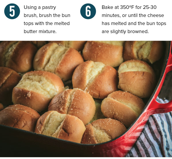 Top Layer of Buns