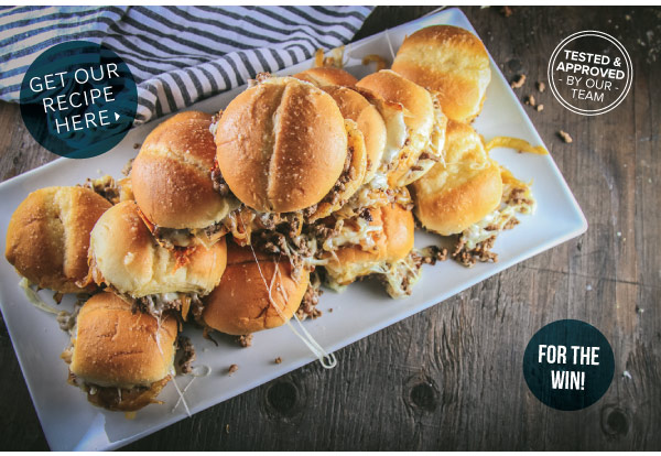 French Onion Sliders