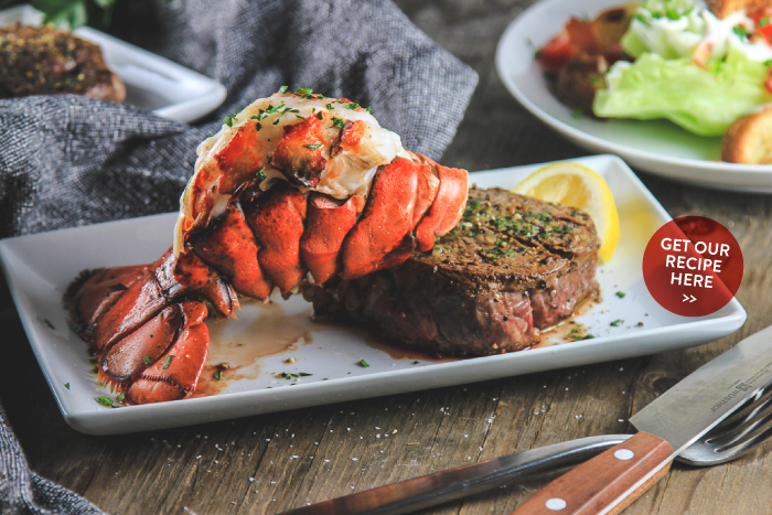 Lobster Tail & Filet Mignon