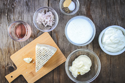 Blue Cheese Ingredients