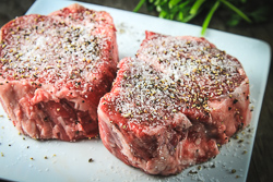 Seasoned Steaks