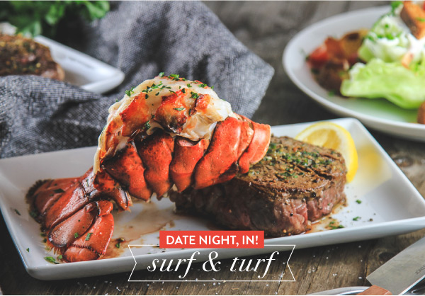 Date Night In! Surf and Turf