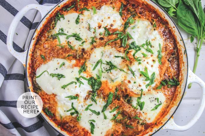 Weeknight Stovetop Lasagna