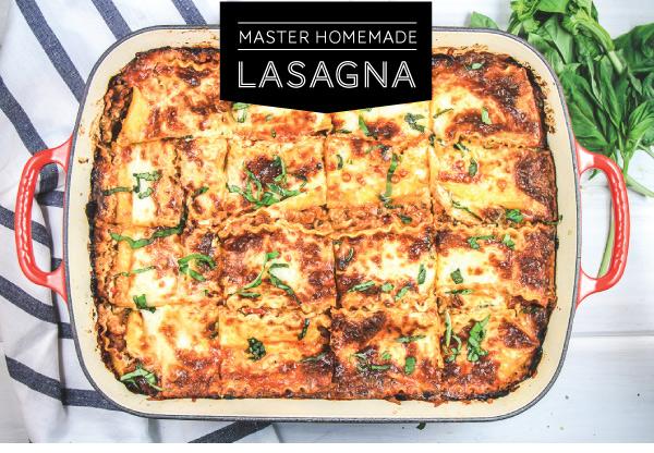 Mastering Homemade Lasagna