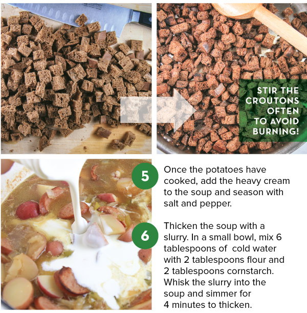 Making Croutons
