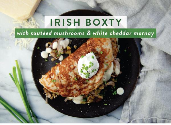 Irish Boxty