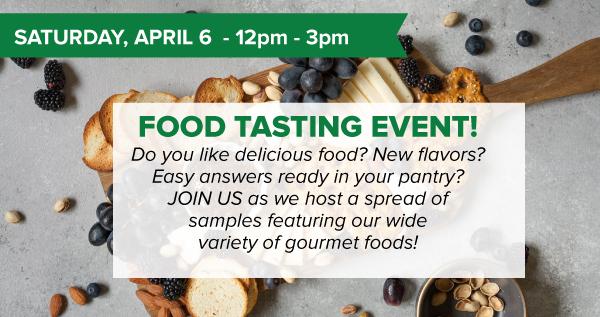 Food Tasting Event