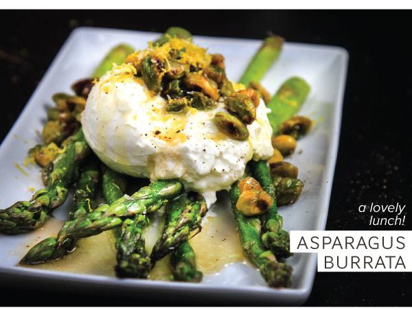 Asparagus Burrata