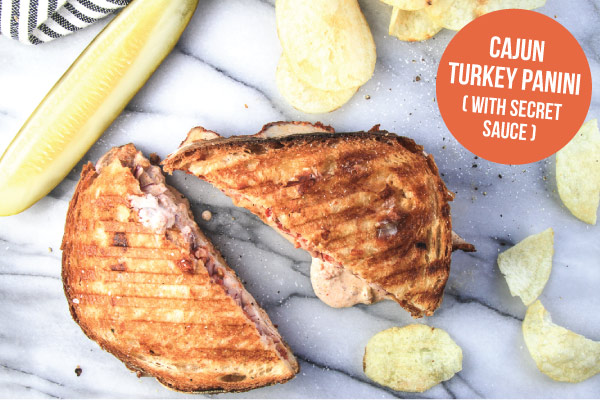 Cajun Turkey Panini