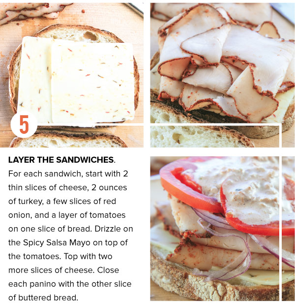 Layer the Sandwich