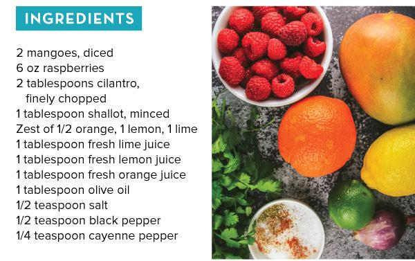 Mango Raspberry Salsa