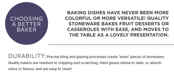 Choosing a Better Baker
