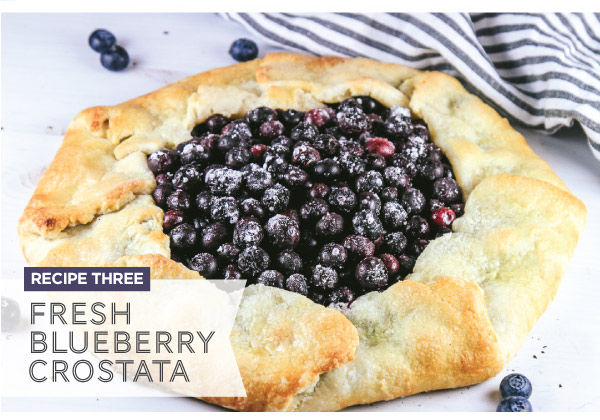 Fresh Blueberry Crostata