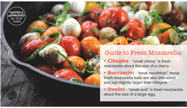Guide to Fresh Mozzarella