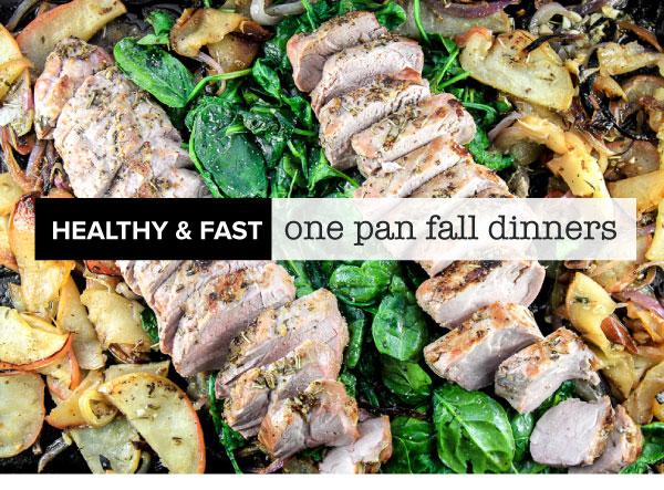 One Pan Dinners