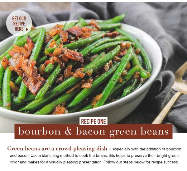 Bourbon Bacon Green Beans