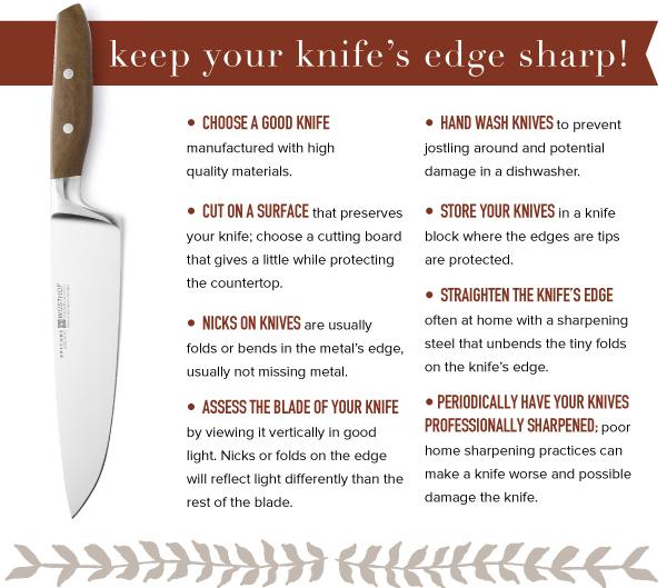 Keep Your Knife Edge