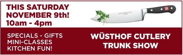 Wusthof Day Banner